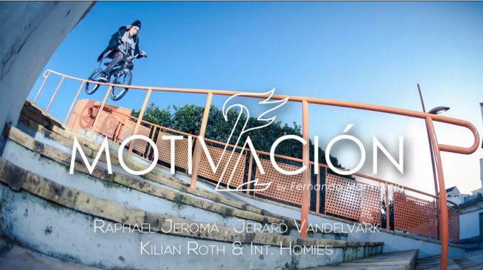 Motivación 2 - 10/13 Raphael Jeroma, Jerard Vandelvark, Kilian Roth & International Homies
