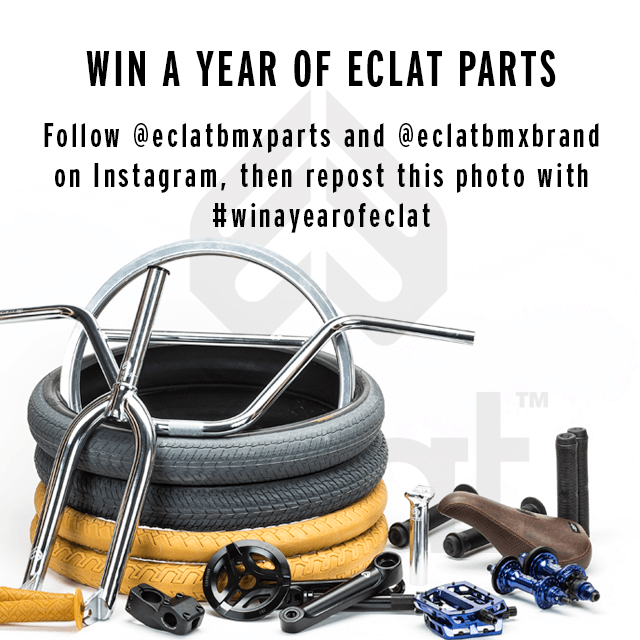 Win A Year Of Eclat Parts