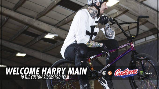 Harry Main Riding For Custom Riders