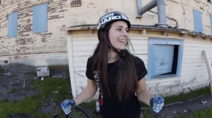 18 Year Old Female BMX Rider, Nikita Ducarroz