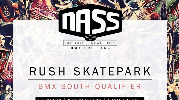 NASS Qualifiers this weekend at Rush Skatepark.