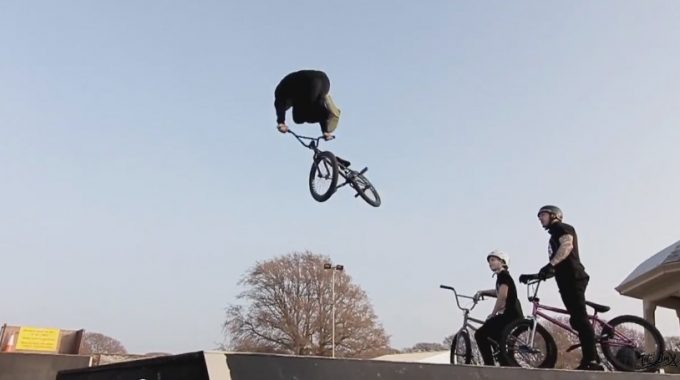 Total BMX Bike Co - Welcome Kostya Andreev