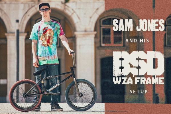 Sam Jones - Bike Check