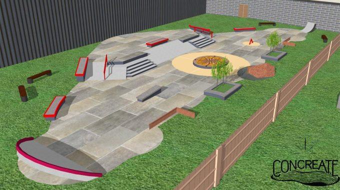 Adrenaline Alley - New Concrete Plaza
