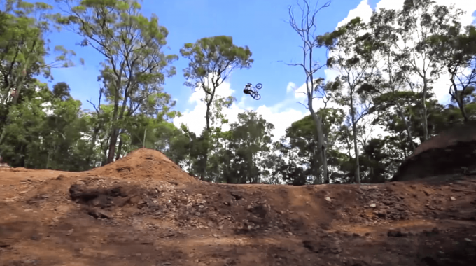 Nick Cooper Attempted The world's Biggest Dirt Jump