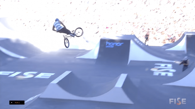 Daniel Sandoval's Winning Runs from Fise