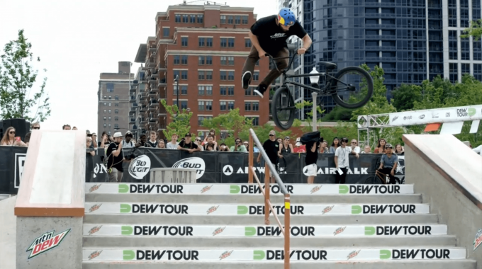 2015 DEW TOUR STREET HIGHLIGHTS