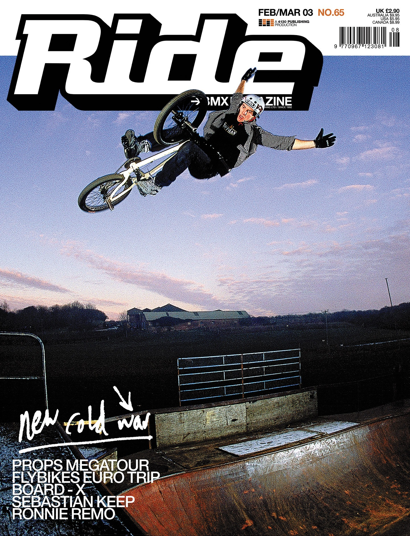 Bas Keep Ride UK Cover - Issue 65