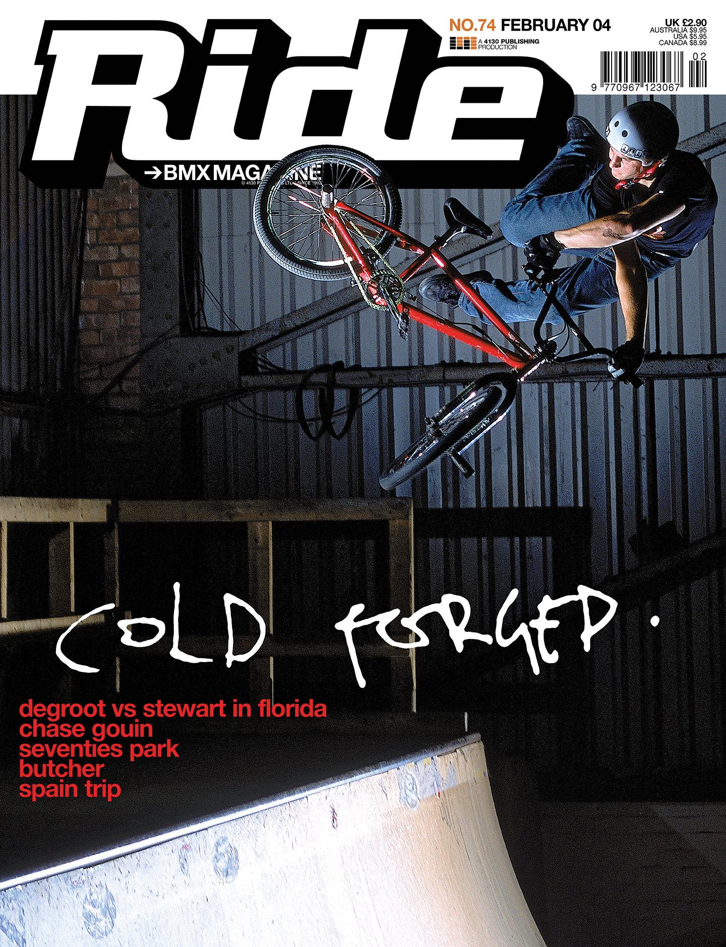 Bas Keep - Ride UK Cover 74
