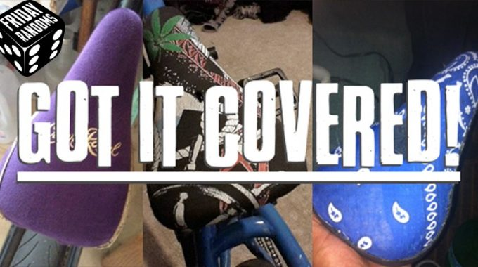 FRIDAY RANDOMS: Got it Covered.