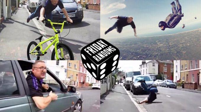 FRIDAY RANDOMS: BIKE VS CAR ROAD RAGE TURNS INTO HILARIOUS CHAIN OF MEMES