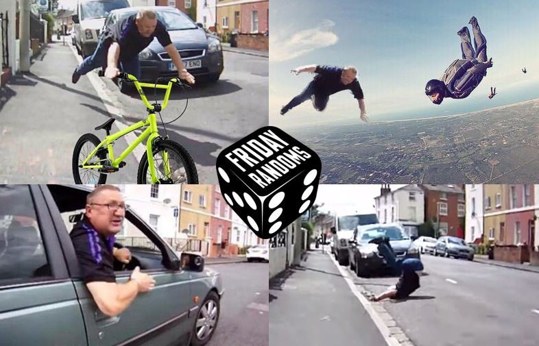 FRIDAY RANDOMS: BIKE VS CAR ROAD RAGE TURNS INTO HILARIOUS CHAIN OF MEMES