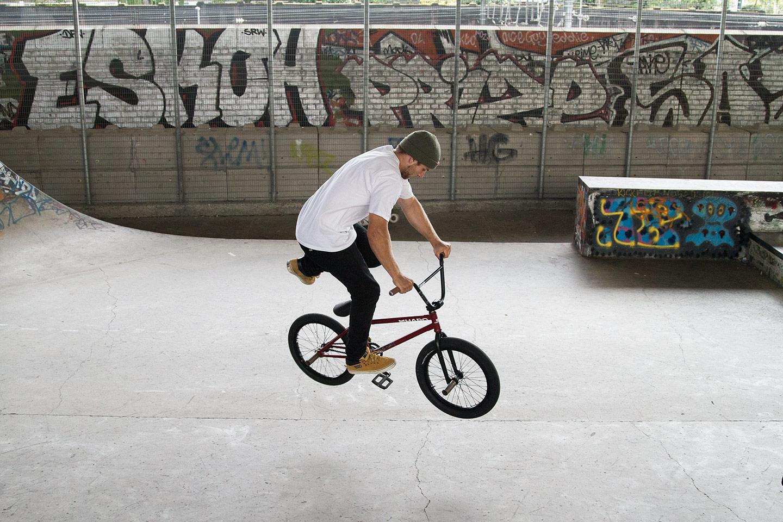 Ride UK BMX - How To Bunny Hop Tailwhip 5