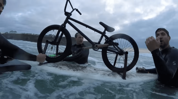 Dead Sailor: BMX Surf Boarding