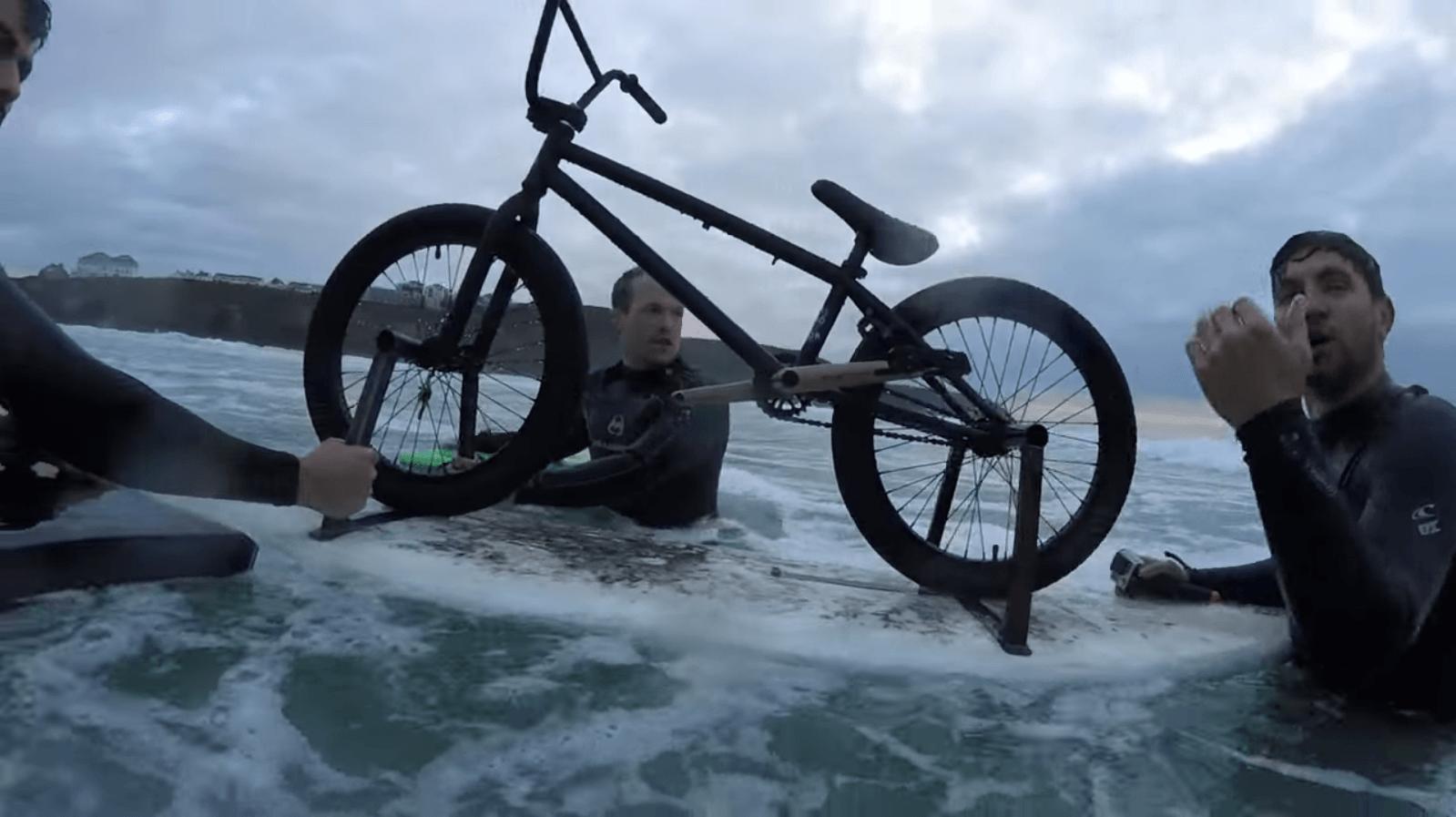 Dead Sailor: BMX Surf Boarding
