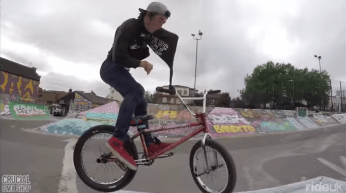 Crucial BMX: One Arm, No Excuses