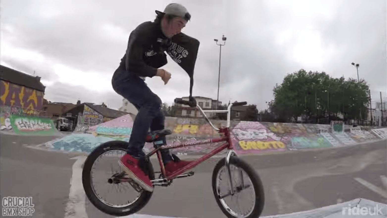 Crucial BMX: One Arm, No Excuses