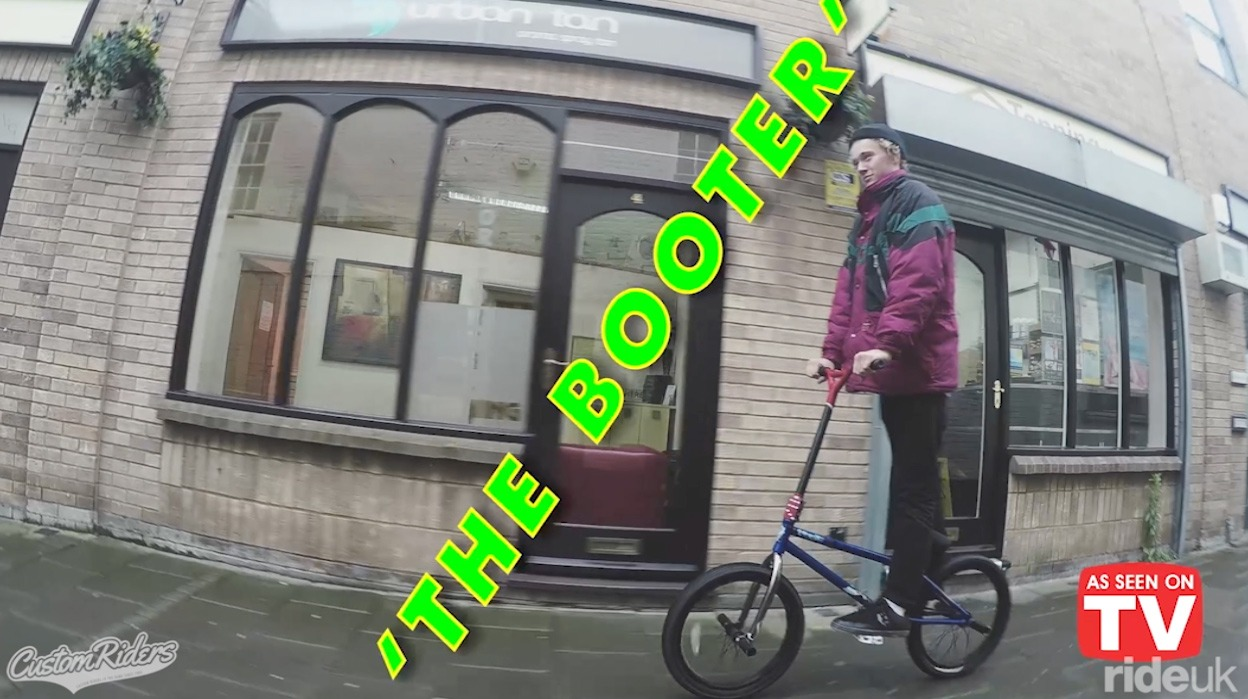 Custom Riders: The 'Booter' A BMX and a scooter