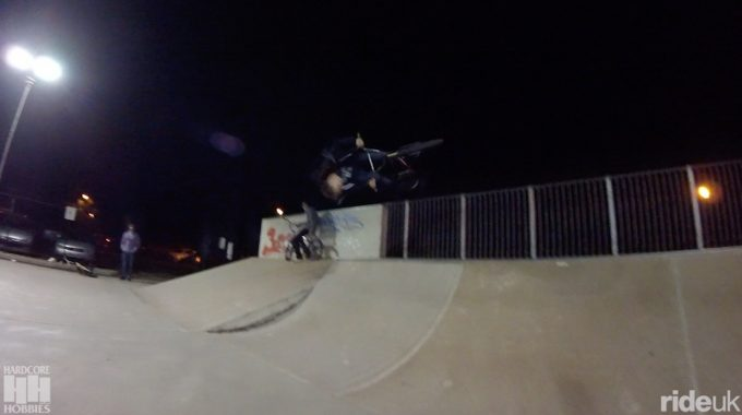 Hardcore Hobbies: Floodlit skateparks are rad
