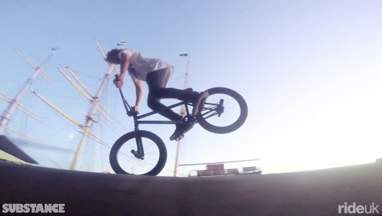 Substance: Down at the waterfront shredding ledges