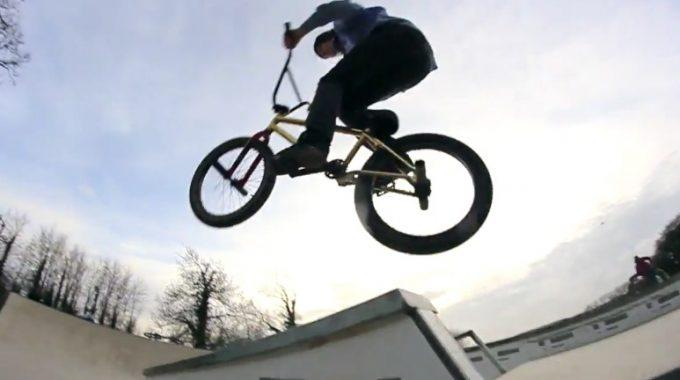 Theo Dorman & Archie Kenward: Grind Biking At The Training Compound