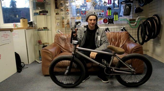 Boqer123: Josh James Proper Trawlerman Bike Check