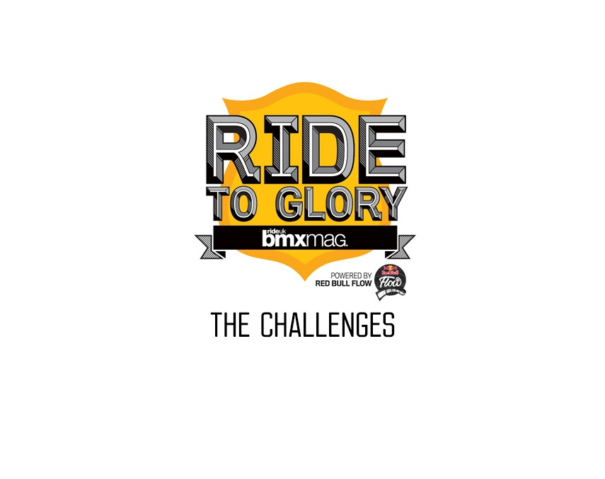 FRIDAY RANDOMS: Ride to Glory 14 - The Challenges