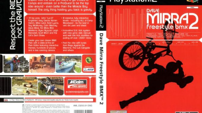 Dave Mirra's Freestyle BMX 2 Changed My Life