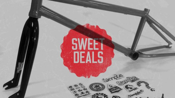 Sweet Deal Hardcore Hobbies: Free Forks with All Simple Bike Co Frames