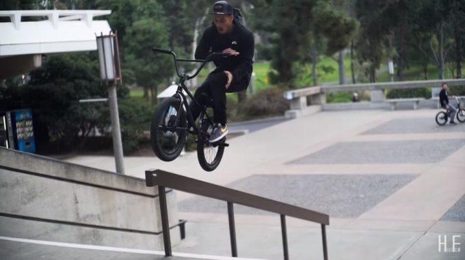 John Hicks: Chad Kerley Riding Street At UCI