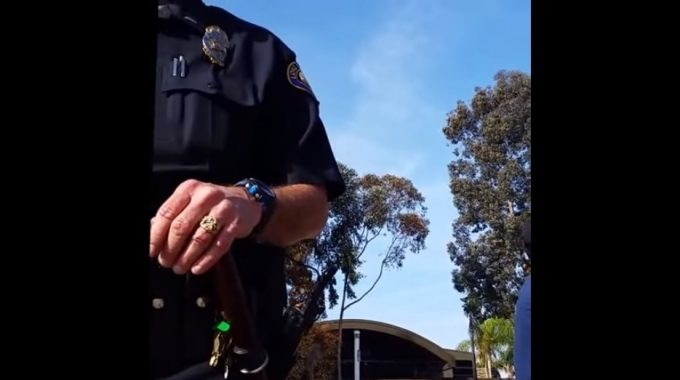 BMX Rider Shuts Down Cop By Knowing The Law