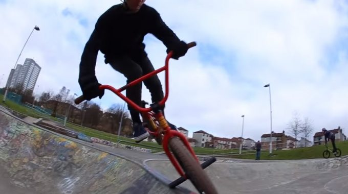 Kriss Kyle & Friends Ride A Really Small Spine.