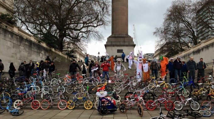 #Bunnyhop: BMXing Easter Bunnies descending on London TODAY!