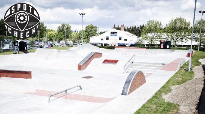 SPOT CHECK: Bury St Edmunds Skatepark