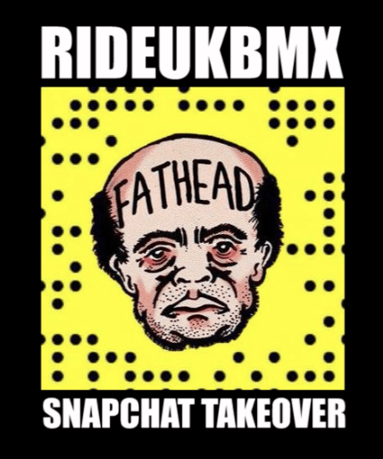 Fathead Takes Over The RideUKBMX Snapchat At The United Premiere