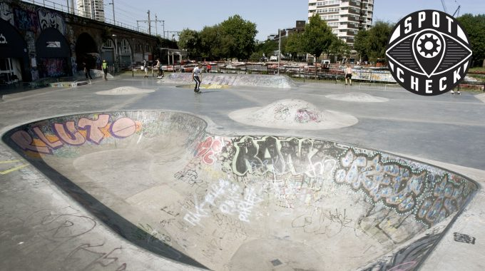 SPOT CHECK: Mile End Skatepark