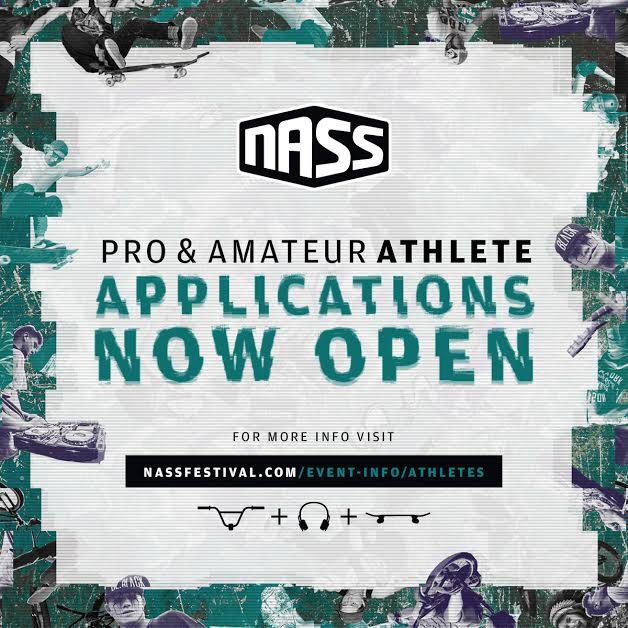 NASS Festival: Pro & AM Athlete Applications Now Open