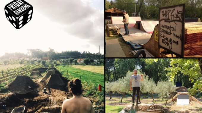 FRIDAY RANDOMS: Backyard Ramps & Trails