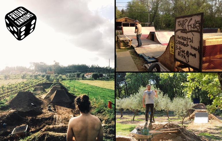 FRIDAY RANDOMS: Backyard Ramps & Trails