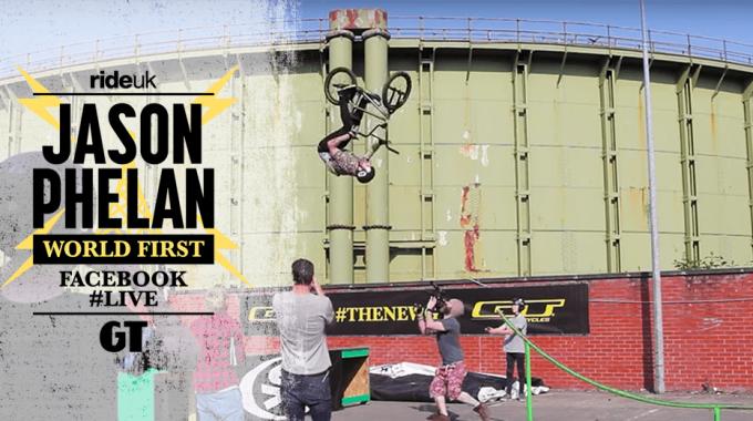 JASON PHELAN: World First - Pegs to Backflip Barspin