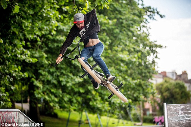 Truly Inspirational: One Armed BMX Rider Jack Dumper Makes The News!