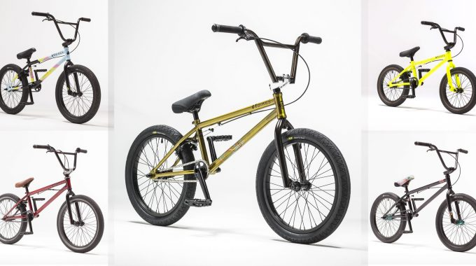 GT BMX: 2017 Complete Bikes