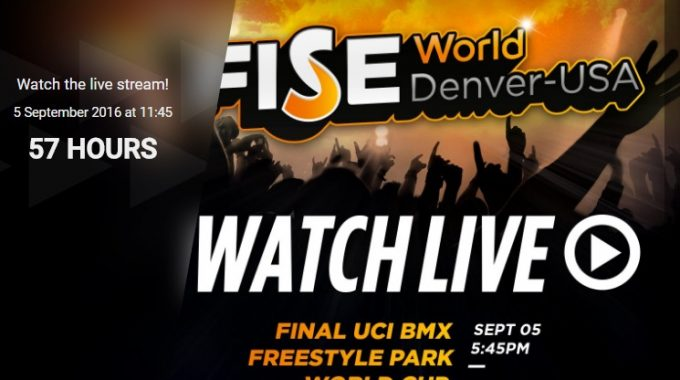 FISE: Semi Final UCI BMX Freestyle Park World Cup 2016