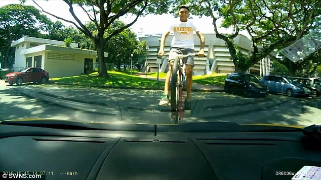 NEW LAMBO ROOF RIDE: But A BMXer Did It Better