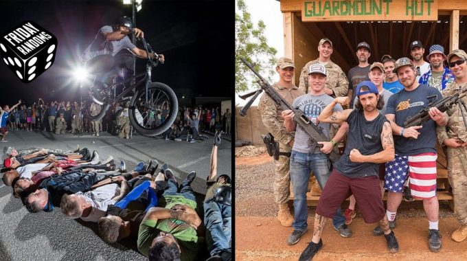 FRIDAY RANDOMS: Bikes Over Baghdad - We Salute You!