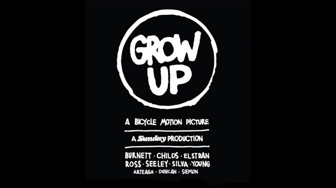 SUNDAY BIKES: Grow Up DVD - UK Premieres