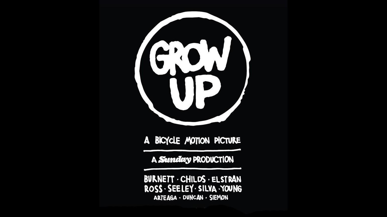 SUNDAY BIKES: Grow Up DVD - UK Premieres