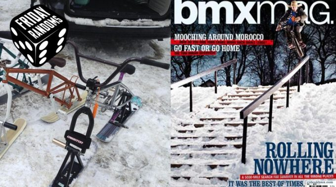 FRIDAY RANDOMS: 5 Things About Winter BMXers HATE!