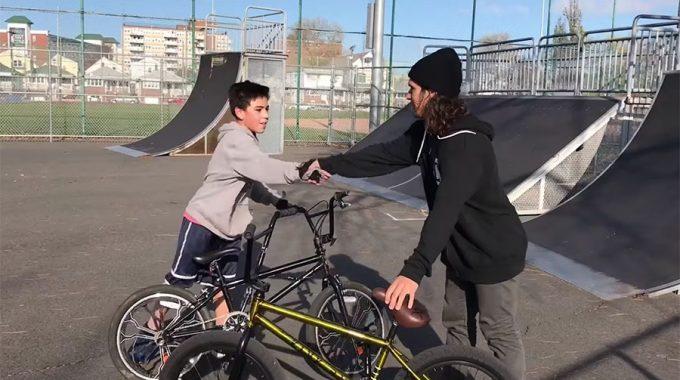 TONY HAMLIN: Most Extreme Unboxing Bike Giveaway