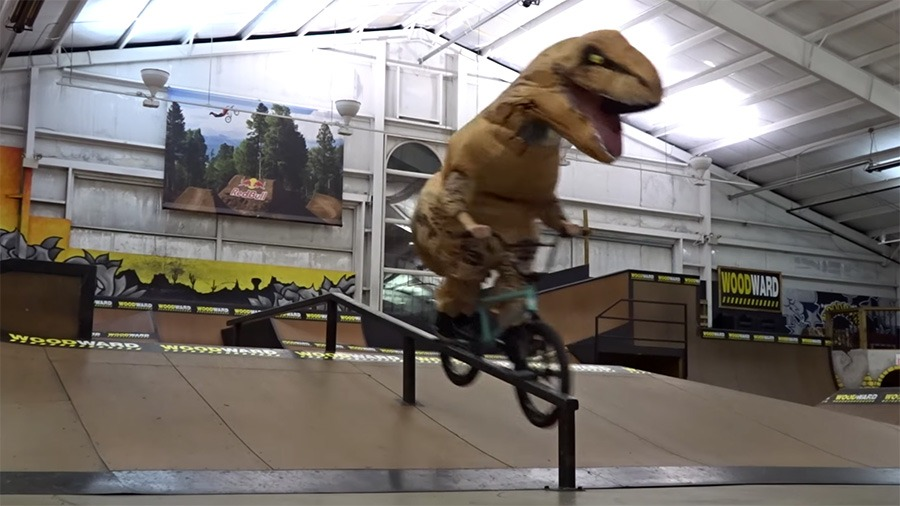WOODWARD CAMP: T-Rex On The Loose